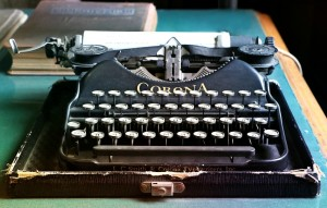 every writer dreams of an old typewriter
